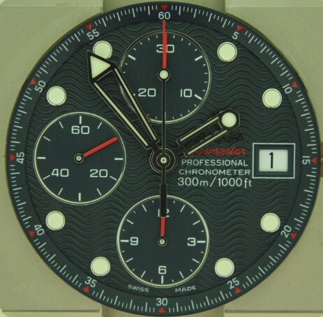 A modern Omega Chronograph using the valjoux 7750 movement